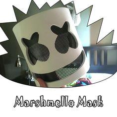 DJ Marshmello Mask Cosplay Costume Accessory Helmet For Hall.- DJ Marshmello Mask Cosplay Costume Accessory Helmet For Halloween Party Props DJ Marshmello Mask Cosplay Costume Accessory Helmet For Halloween Party Props Marshmallow Halloween Costume, Diy Halloween Costumes For Kids, Halloween Party, Boy Costumes, Cosplay Costumes, Dj Marshmello Costume, Marshmello Face, Masquerade Ball Costume, Props For Sale