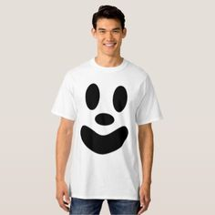 #Funny Ghost Face T-Shirt Halloween - #Halloween happy halloween #festival #party #holiday