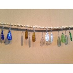 Tumbled Glass Earrings by 2nd Story Goods from Haiti