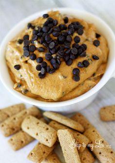 Pumpkin Pie Cheesecake Dip Recipe www.skiptomylou.org #pumpkinrecipes #pumpkindip #diprecipes #fallrecipes