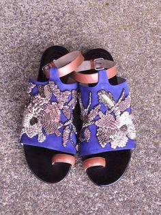 shoes jewellery by Dires Van Noten