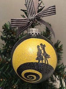 The Nightmare Before Christmas Jack Skellington Jack & Sally Hill Ornament