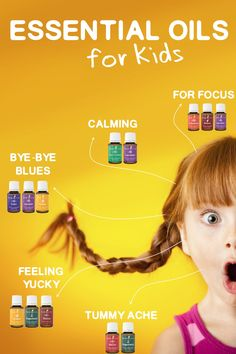 Great ideas on how to use essential oils with your kids
