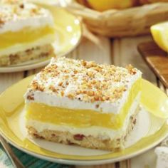 "Luscious Lemon Delight ~   ""Grandma often doubled this recipe, because we all wanted a second helping."" ...this link works!"