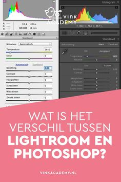 Wat is het verschil tussen lightroom en photoshop? Photoshop Express, Photoshop For Photographers, Photoshop Design, Photoshop Photography, Photoshop Actions, Adobe Photoshop, Lightroom, Photography Tips, Photoshop Tutorials Youtube
