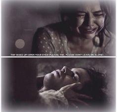 """The Casket Girls"" - Davina and Tim Please Dont Leave Me, Davina Claire, Danielle Campbell, Original Vampire, Vampire Dairies, Mystic Falls, Joseph Morgan, Open Your Eyes, True Blood"