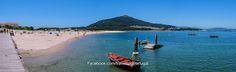 Playa Praia da Foz do Minho en Caminha | Turismo en Portugal