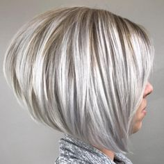 Healthy Hair 314407617737086397 - Angled bob cut is a beautiful hair to consider for the summer. Especially if you use your Voluflex hair brush for volume and style. Stay beautiful and have a healthy hair day! Choppy Bob Hairstyles, Bob Hairstyles For Fine Hair, Wedding Hairstyles, Angled Bob Hairstyles, Celebrity Hairstyles, Braided Hairstyles, Stacked Bob Hairstyles, Inverted Bob Hairstyles, Men's Hairstyle