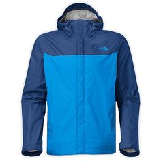 North Face Venture Mens A8AR-EWB Bomber Blue DryVent Waterproof Jacket Size M