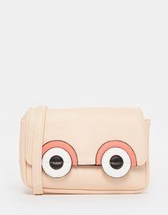 ASOS Novelty Big Eyes Cross Body Bag