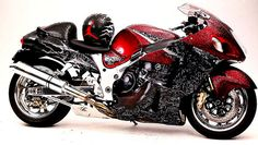 Check out this exciting Sports Motorcycle - what an artistic design and style Jordan, Custom Hayabusa, Custom Sport Bikes, Biker Boys, Suzuki Hayabusa, Cafe Racer Build, Cool Motorcycles, Hot Bikes, Motorcycle Design