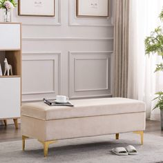 Storage Ottoman Coffee Table, Fabric Storage Ottoman, Upholstered Storage Bench, Upholstered Ottoman, Rectangular Living Rooms, Bench Designs, Master Bedroom Design, Bedroom Designs, Space Saving Furniture