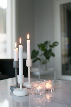 Candles And Candleholders, Scandinavian Living, Home Look, Furniture Decor, Interior Inspiration, Home Accessories, Sweet Home, New Homes, House Design