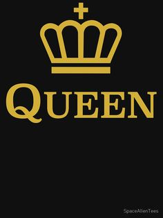 Queen Crown by SpaceAlienTees