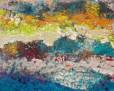 "Mountain Trek by Hilary Winfield | $250 | 20""w x 16""h | Original Art | http://www.vangoart.co/buy/art/mountain-trek @VangoArt"