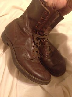 WW2 Era Pilot Service LEATHER COMBAT BOOTS Shoes RARE Bomber  AAF AAC USAF in Collectibles, Militaria, WW II (1939-45), Original Period Items, United States, Uniforms | eBay