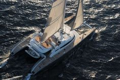 Luxury ALLURES - Sailing Yacht Check more at https://eastmedyachting.co.uk/yachts/allures-sailing-yacht/