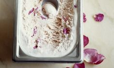 Rose Turkish delight ice cream (Warm or Cold Drink Mix Idea)