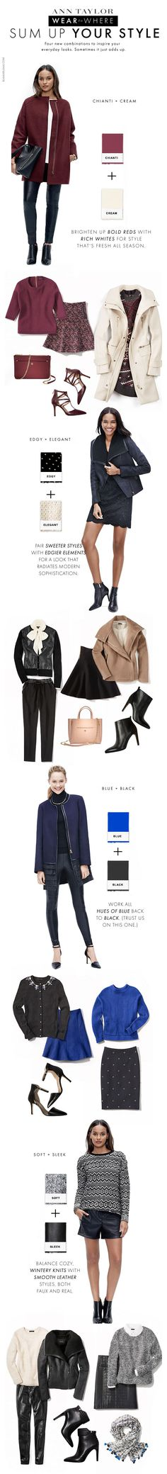 Ann Taylor – Sum Up Your Style