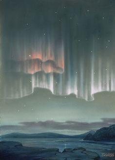 Aurora Australis in Antartica.