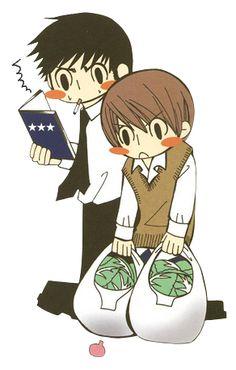 Misaki needs to teach shinobu how to cook. . . Then misaki can be called 'sensei' finally. Compromise boys!