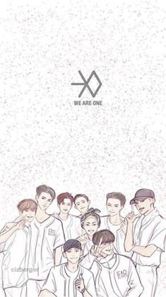 Image shared by baekon. Find images and videos about exo, text and baekhyun on We Heart It - the app to get lost in what you love. Kpop Exo, Exo Chanyeol, Exo Cartoon, Exo Anime, Exo 12, Exo Album, Exo Group, Exo Fan Art, Exo Lockscreen