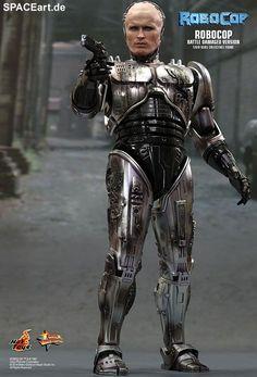 Robocop: Battle Damaged Robocop, Deluxe-Figur (voll beweglich) ... https://spaceart.de/produkte/rc004.php