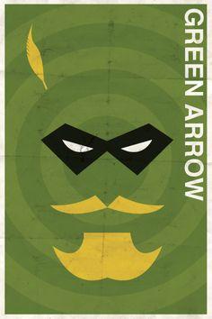 Vintage Green Arrow Poster | by slaterman23