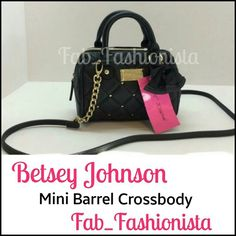 "BETSEY JOHNSON GLAM BOW CROSSBODY BAG BRAND NEW WITH TAGS!!  LIMITED EDITION BLACK BOW CROSSBODY PURSE.   FEATURES A QUILTED STYLE WITH GOLD SILVER GEMS, LARGE FRONT BOW, CROSSBODY CHAIN STRAP AND ""DIAMOND"" DANGLE JEWEL.   DUE TO POSH MARKS $11 FEE THIS PRICE IS FIRM AND NON NEGOTIABLE.   BRAND NEW WITH TAGS, PAID $58 PLUS TAX!  THANK YOU FOR BROWSING! :)) Betsey Johnson Bags Crossbody Bags"