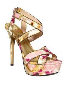 918fc5d340f Jessica Simpson Blairee Platform Sandals Shoes - Macy s