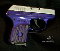 purple colored ruger pistols | No Ugly Guns! (Women shoot too) | 7.62 Precision Custom Firearm ...