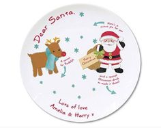 """Di's Home Decor on Twitter: """"Personalised Santa Mince Pie Plate £19 #mincepie #santa #santaplate #wineoclock #buyonline #onlineshopping #xmasforkids #christmasforkids https://t.co/5l49A3T5YU"""""""