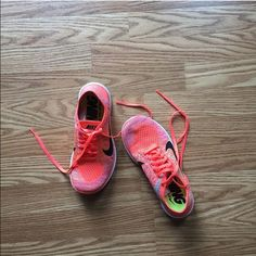 Nike running shoes In excellent condition no trades!!! Price is firm. Nike free fly 4.0 Nike Shoes Athletic Shoes