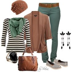 """""""fun with stripes"""" by shauna-rogers on Polyvore"""