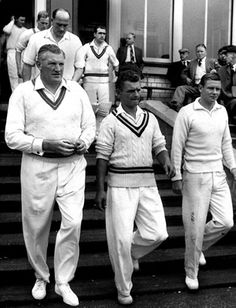 George Young with Thirds' players Alex Harley and Dave Hilley. Cricket Whites, George Young, Polo Outfit, Student Fashion, Outdoor Dog, Social Events, Preppy Style, British Style, Vintage Photographs