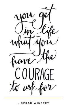 Oprah Winfrey #quote #courage