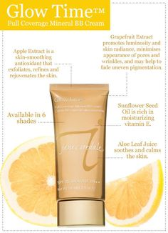 jane iredale Glow Time Mineral BB cream Available at Robert Andrews Medical Aesthetics we ship to anywhere in the U. Organic Makeup, Organic Beauty, Beauty Skin, Health And Beauty, Clean Beauty, Cosmetic Treatments, Makeup Blog, Makeup Products, I Love Makeup