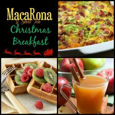 MacaRona And Sweet Tea Holiday Edition: Breakfast Casserole, Wassail and Fluffy Waffles for Christmas morning