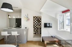 Modern studio for two people in Montorgueil