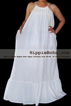 Size Hippie Boho Clothing Gypsy White Plus Size Strap Summer Maxi Dress, and DressProduct description Material : Gauze Cotton Length : Lining : Lining included. Size : and Color : More than 30 colors available. Plus Size Sundress, Plus Size Maxi Dresses, Plus Size Outfits, Gauze Clothing, Summer Maxi, Summer Dresses, Bohemian Style Clothing, Hippie Dresses, Hippie Boho