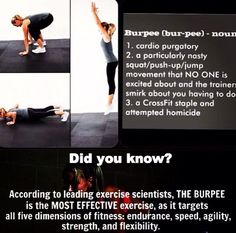 Crossfit Inspiration: Crossfit  Why burpees?!! More Fitness Motivation at http://www.fitbys.com #crossfit #fitness #motivation