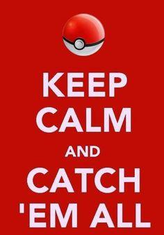 Keep calm Pokemon