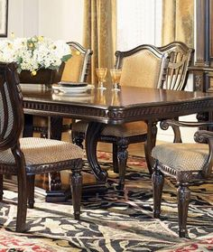 Beautiful Fairmont Designs Grand Estates Collection Double Pedestal Dining Table