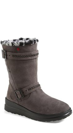 LOVE these UGGS with the leopard spotted UGG lining!!! @nordstrom