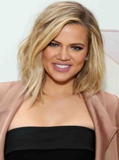 Long-Layered-Bob-hbz-bob-hairstyles-khloe-kardashian 58 Gorgeous Long Layered Bobs With Bangs Haircuts Long Hairstyles Medium Bob Hairstyles, Long Bob Haircuts, Haircuts With Bangs, Bob Hairstyles 2018, Shag Hairstyles, Latest Hairstyles, Celebrity Bobs, Celebrity Hairstyles, Celebrity Hair 2018