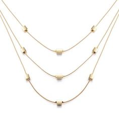 Luxe Vibes Layered Fashion Necklace