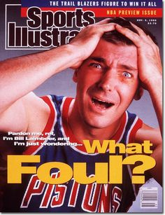 No athlete drew more contempt from sports fans than original detroit bad boy bill laimbeer, Detroit Basketball, Detroit Sports, Basketball Legends, Pistons Basketball, Basketball Quotes, Basketball Pictures, Basketball Tips, Bad Boy Pistons, Bill Laimbeer