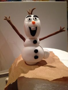 Icing Olaf Homemade Cakes, Olaf, Fondant, Icing, Snowman, Disney Characters, Fictional Characters, Art, Art Background