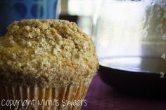Jumbo Cinnamon Streusel Muffins: Perfect breakfast paired with coffee!! #jumbomuffins