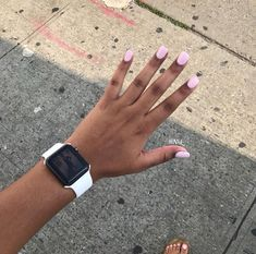 How to choose your fake nails? - My Nails Summer Acrylic Nails, Cute Acrylic Nails, Cute Nails, Pretty Nails, Short Square Acrylic Nails, Summer Nails, Light Pink Acrylic Nails, Cute Spring Nails, Short Square Nails
